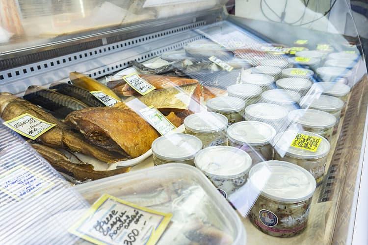 выкладка рыбной продукции на витрине фото выбрать правильный